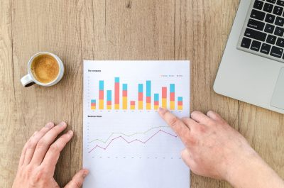 Graph Key finance metrics
