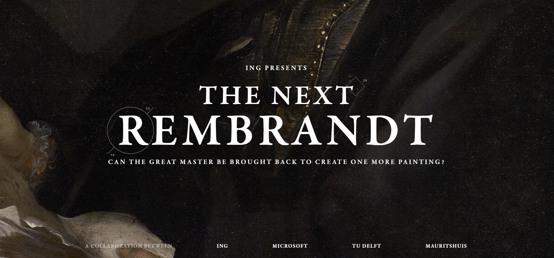 Ing Presents: The Next Rembrandt